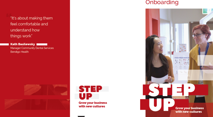 Step Up Employers Onboarding