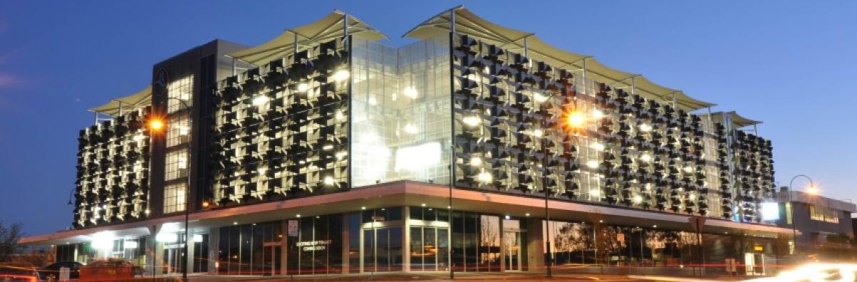 Edward street multi storey car park city of greater bendigo for Hotel parking design