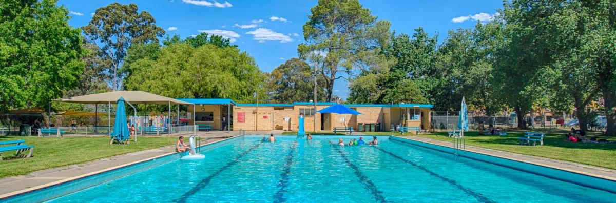 White Hills Swimming Pool City Of Greater Bendigo