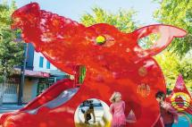 Kids at FunLoong Play Space