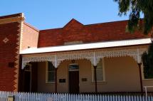 The California Gully Mechanics Institute Hall is a traditional brick building available for public hire.