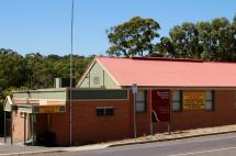 The Spring Gully Hall is a brick veneer building, located along Spring Gully Rd and next to the Spring Gully Cricket Ground.