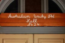 The Australian Manchester Unity Hall is a community space tucked away along the main street of Eaglehawk.