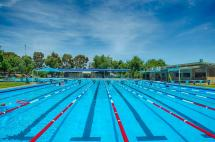 Bendigo East Pool lap lanes