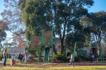 Tununga Cct Playspace with children playing